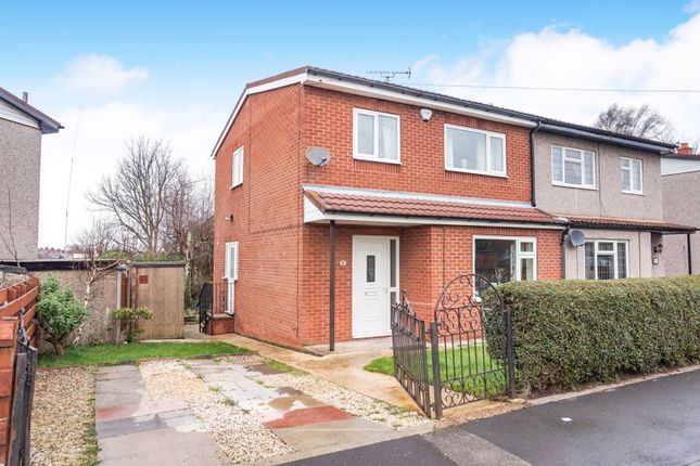 Thumbnail 3 bed semi-detached house for sale in Gargrave Crescent, Hemsworth, Pontefract