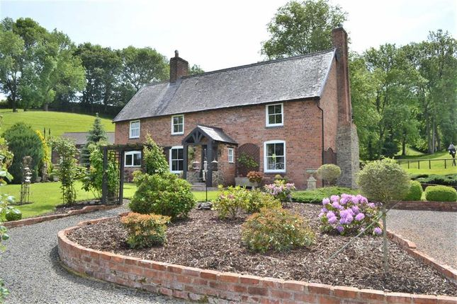 Thumbnail Detached house for sale in Cwmdale, Llandyssil, Montgomery, Powys