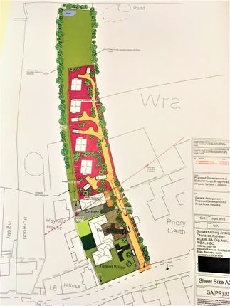 Thumbnail Land for sale in Brigg Road, Wrawby, Brigg