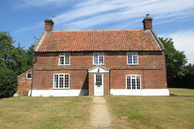 Thumbnail Farmhouse to rent in Westwick, Norwich