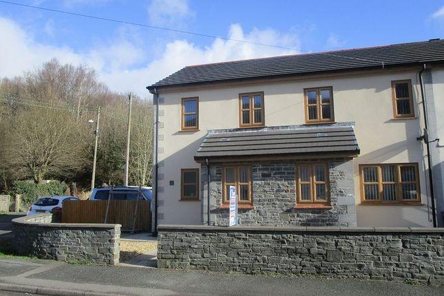 Thumbnail Semi-detached house for sale in 1 Llys Twrch, Heol Twrch, Lower Cwmtwrch, Swansea.