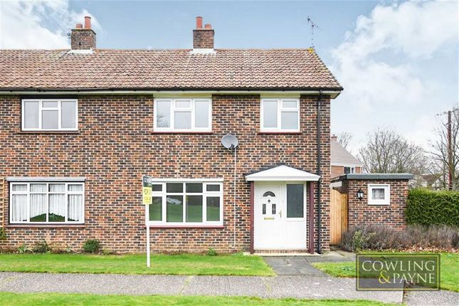 Thumbnail Semi-detached house for sale in Middlemead, West Hanningfield, Chelmsford