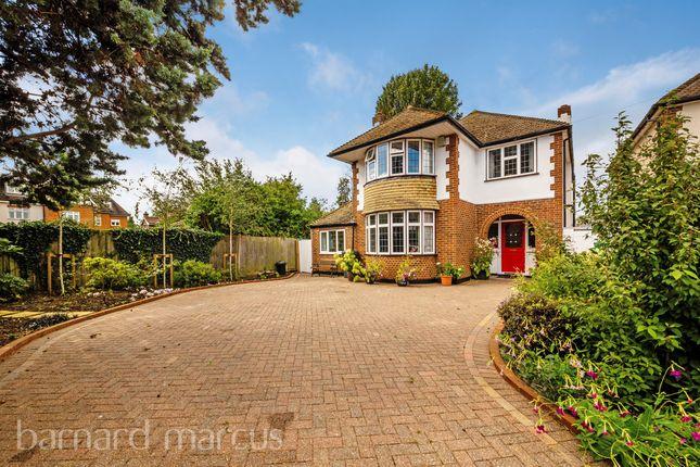 Thumbnail Detached house for sale in Boleyn Avenue, Ewell, Epsom