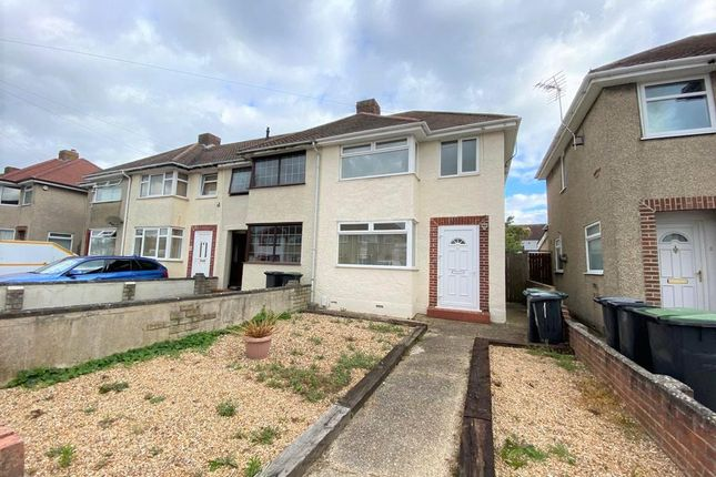 3 bed end terrace house to rent in Rothesay Road, Gosport PO12