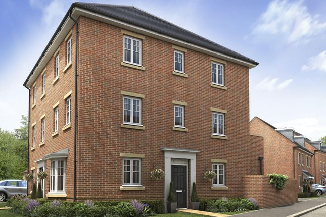 """Thumbnail Semi-detached house for sale in """"Durrington"""" at Blackthorn Road, Didcot"""