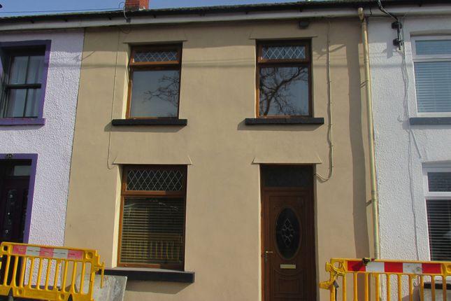 Thumbnail Terraced house for sale in Poplar Terrace, Pentrebach, Merthyr Tydfil