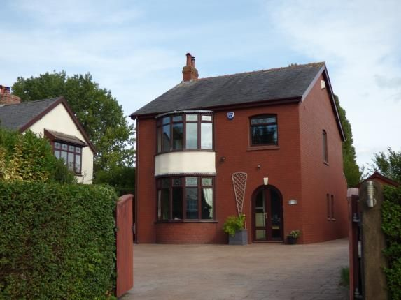 Thumbnail Detached house for sale in Liverpool Road South, Burscough, Ormskirk, Lancashire