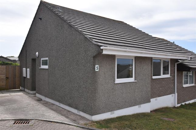 Thumbnail Semi-detached bungalow for sale in Trenear Close, Redruth