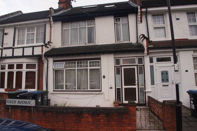 Thumbnail Terraced house for sale in River Avenue, London