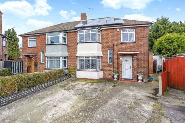 Thumbnail Semi-detached house for sale in Bexhill Close, Hanworth