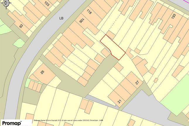 Thumbnail Land for sale in Bensham Lane, Thornton Heath