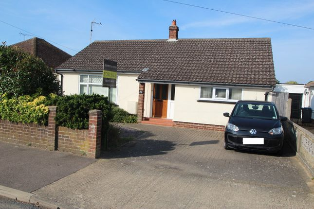 Thumbnail Detached bungalow for sale in Rosemary Avenue, Felixstowe