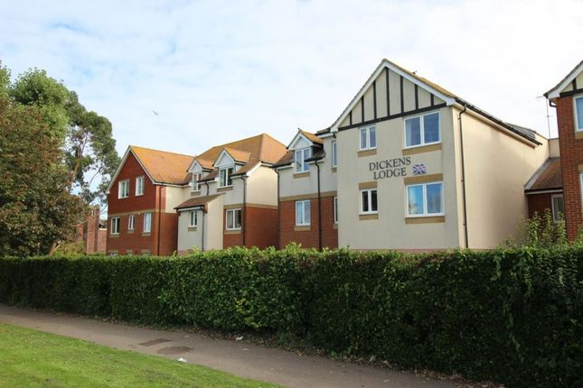 1 bed flat for sale in Dickens Lodge Wealdhurst Park, Broadstairs