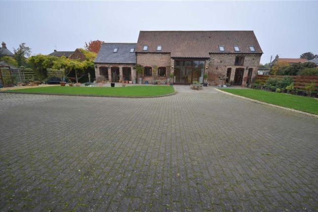 Thumbnail Barn conversion for sale in Back Lane, Asselby, Goole