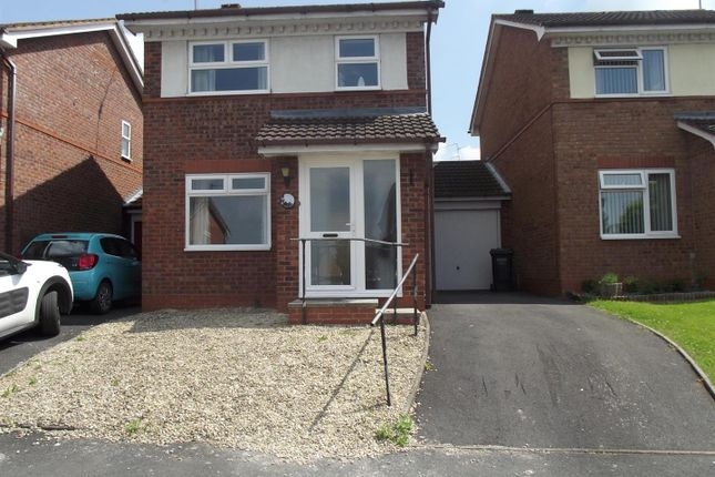Thumbnail Detached house to rent in Hammond Close, Droitwich