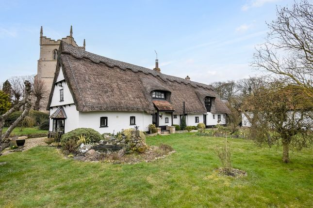 Thumbnail Cottage for sale in Church Street, Great Wilbraham, Cambridge