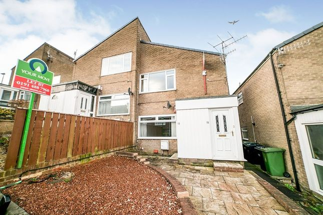 Thumbnail Flat to rent in Coalway Lane, Whickham, Newcastle Upon Tyne