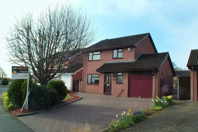Thumbnail Detached house for sale in Hazelwood Crescent, Hawarden, Deeside