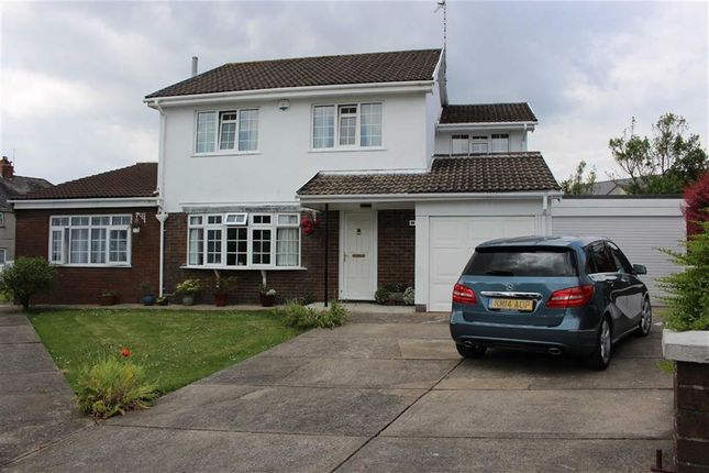 Thumbnail Detached house for sale in Llwynderw, Three Crosses, Swansea