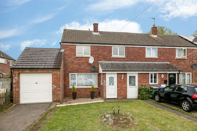 Thumbnail Semi-detached house for sale in Fairhaven Road, Caversfield, Bicester