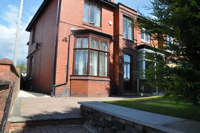 Thumbnail Semi-detached house for sale in Rooley Moor Road, Rochdale, Lancashire