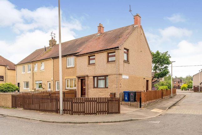 Thumbnail End terrace house for sale in Woodburn Avenue, Dalkeith, Midlothian
