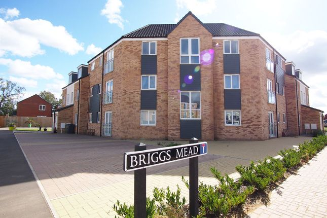 Thumbnail Flat for sale in Briggs Mead, Wymondham