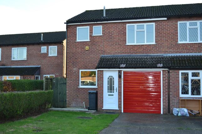 Thumbnail Semi-detached house to rent in Derwent Road, Thatcham, Berkshire