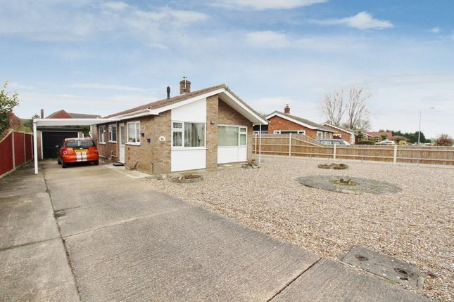 Thumbnail Detached bungalow for sale in Poplar Drive, Filby
