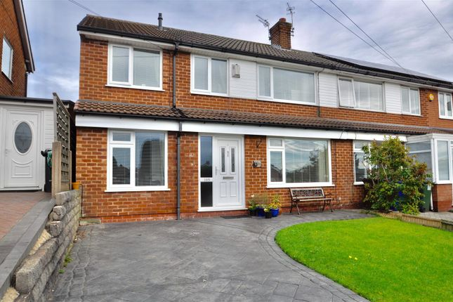 Thumbnail Semi-detached house for sale in Hillary Road, Newton, Hyde