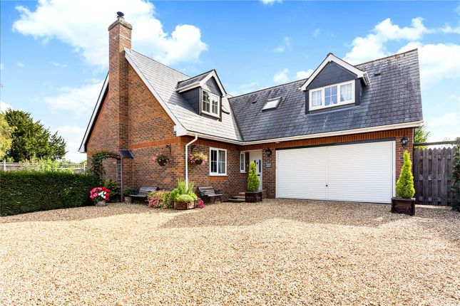 Thumbnail Detached house for sale in Branksome Avenue, Chilbolton, Stockbridge, Hampshire