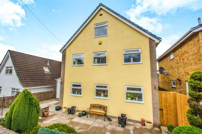 Thumbnail Detached house for sale in Gellideg Heights, Maesycwmmer, Hengoed