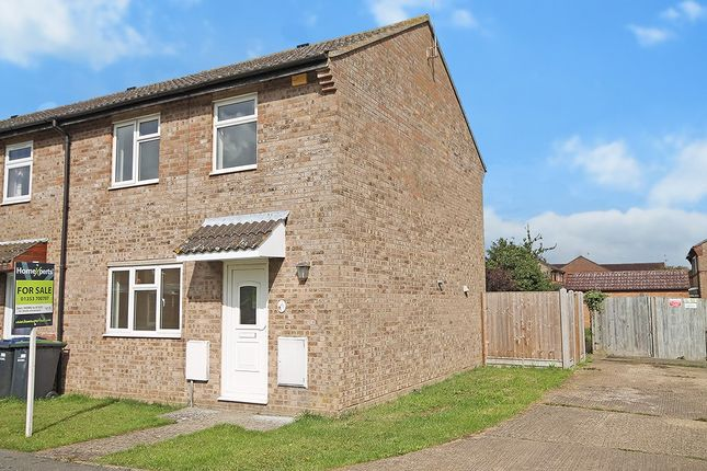 Thumbnail End terrace house for sale in Croft Park Road, Littleport, Ely