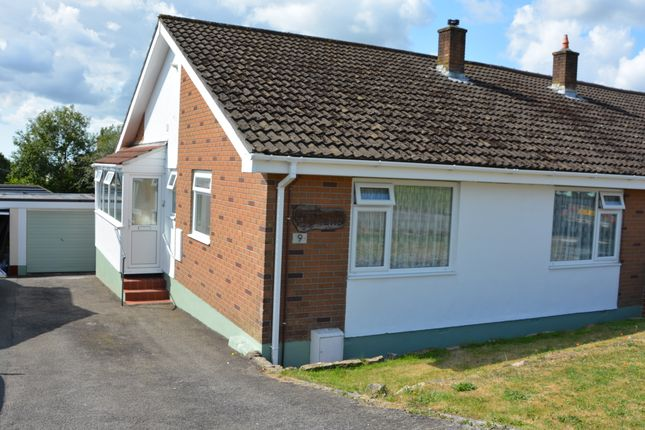 Thumbnail Semi-detached bungalow to rent in East Park, Pensilva, Liskeard