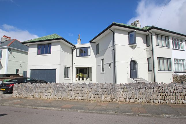 Thumbnail Semi-detached house for sale in Tor Road, Hartley, Plymouth