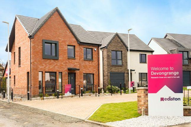 Thumbnail Detached house for sale in The Jardine - Plot 36, Devongrange, Sauchie, Alloa, Clackmannanshire