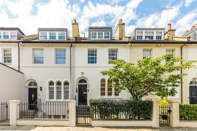 Exterior of Victoria Grove, Kensington, London W8