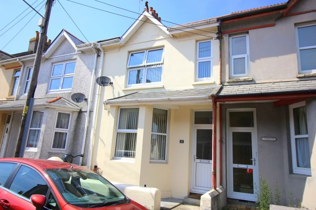 Thumbnail Terraced house for sale in Symons Road, Saltash