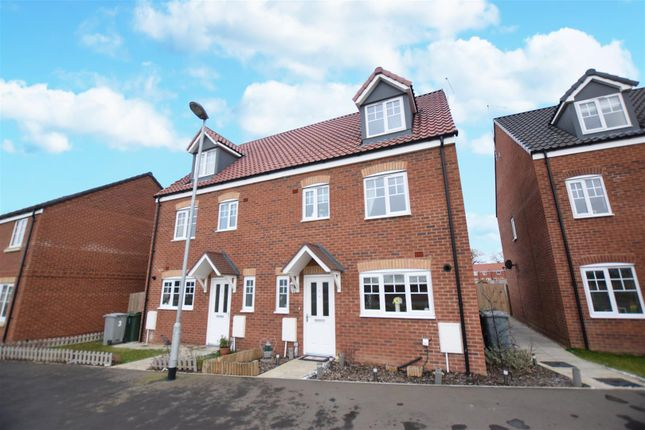 Thumbnail Semi-detached house for sale in Mallard Way, Sprowston, Norwich