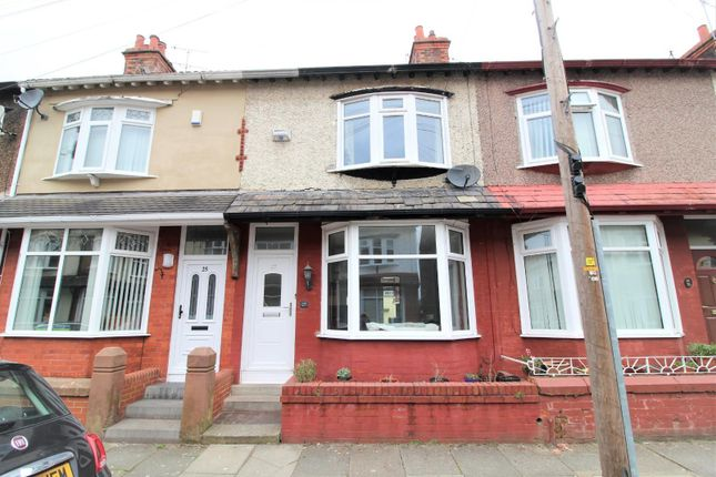 Terraced house for sale in Herondale Road, Mossley Hill, Liverpool