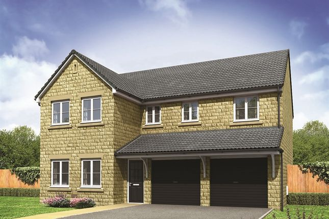 "Thumbnail Detached house for sale in ""The Fenchurch "" at Barnsley Road, Flockton, Wakefield"