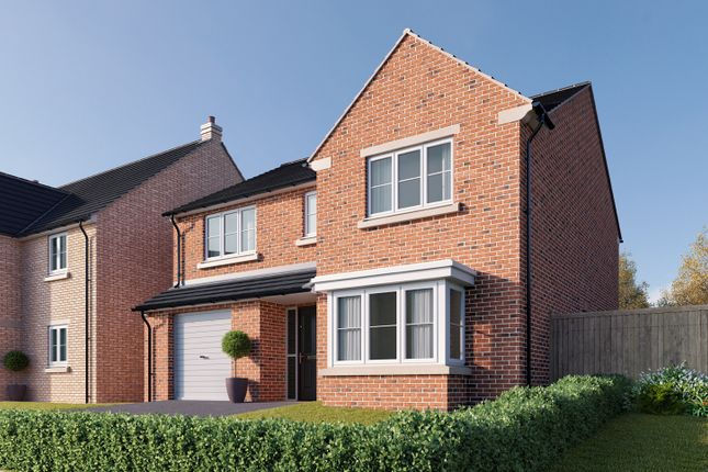 "Thumbnail Detached house for sale in ""The Haxby"" at St. Thomas's Way, Green Hammerton, York"