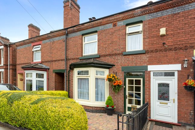 Thumbnail Terraced house for sale in Outwoods Street, Burton-On-Trent