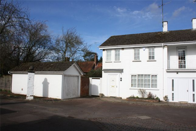 Thumbnail End terrace house to rent in Rupert Close, Henley-On-Thames, Oxfordshire