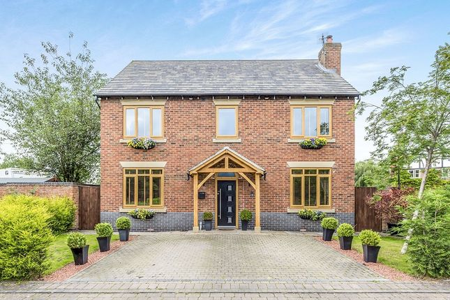 Thumbnail Detached house for sale in The Courtyard, Smallwood, Sandbach, Cheshire