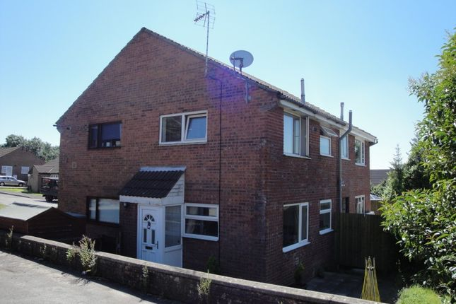 Thumbnail Semi-detached house to rent in Hazeldean, Brackla, Bridgend