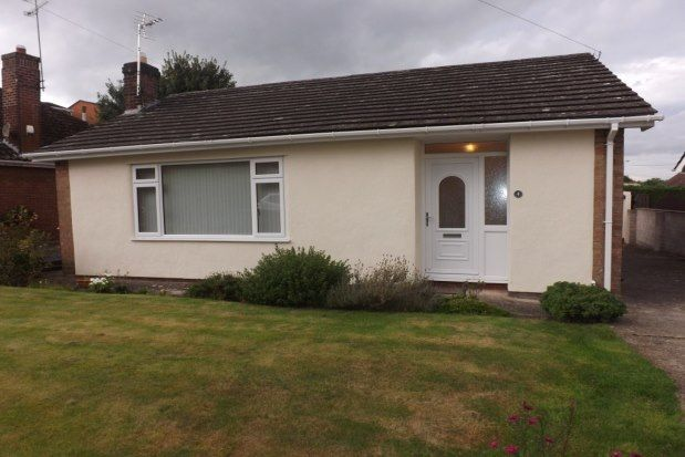 Thumbnail Detached bungalow to rent in Merllyn Lane, Bagillt