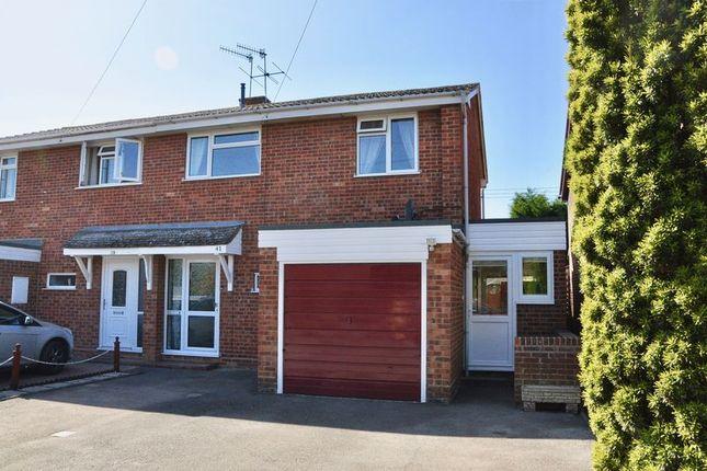 Thumbnail Semi-detached house for sale in Myatt Road, Offenham, Evesham