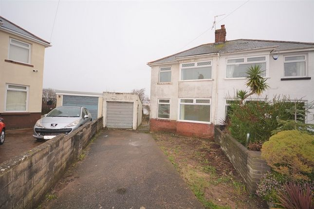 Thumbnail Semi-detached house for sale in Ty Fry Gardens, Rumney, Cardiff.