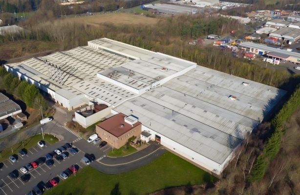 Thumbnail Warehouse for sale in Warehouse Facility, Harcourt, Telford, Shropshire